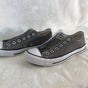 Converse Shoes - Grey Converse All Stars 8.5 (M)